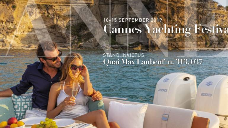 Cannes Yachting Festival 2019: Invictus will present a world preview of yachts  CX270 e la GT280S.