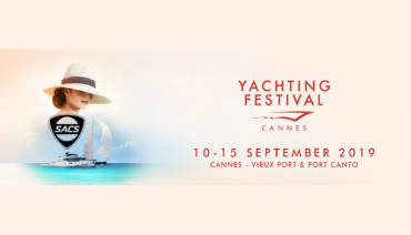 Nautica Sud launches new season at the Cannes Yachting Festival 2019: present in the Sacs Marine stand